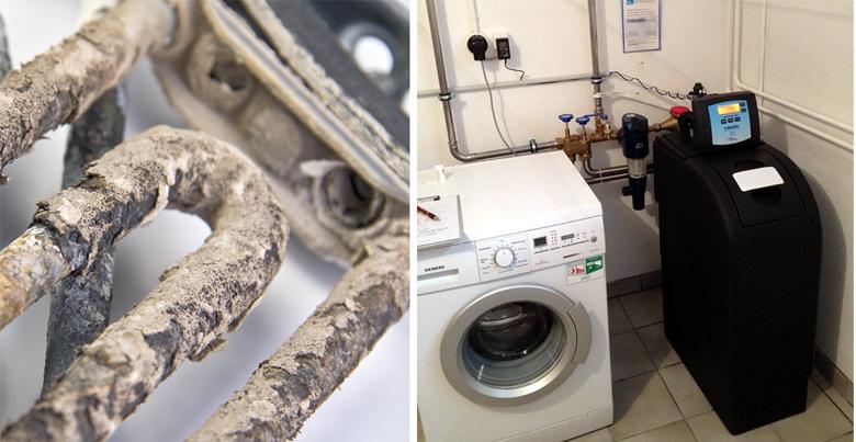 dureté de l'eau : appareils électroménagers et adoucisseur d'eau