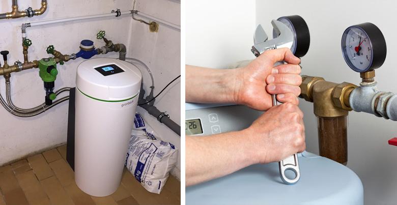 entretien un adoucisseur d'eau : prix