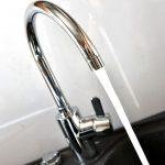robinet qui coule eau douce