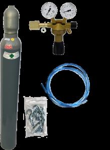 Adoucisseur d'eau au co2 en pièce